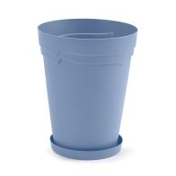 See more information about the 29cm Tall Round Boston Planter Blue