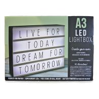 See more information about the A3 LED Lightbox With Letter and Symbols