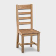 See more information about the Cotswold Ladder Back Dining Chair Oak