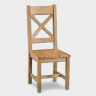 See more information about the Cotswold Cross Back Dining Chair Oak