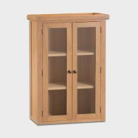 See more information about the Cotswold Dresser Top Oak 2 Door 3 Shelf