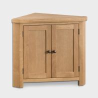 See more information about the Cotswold Corner Cabinet Oak 2 Door