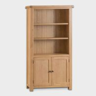 See more information about the Cotswold Large Bookcase Oak 3 Shelf
