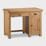 See more information about the Cotswold Desk Oak 1 Door 2 Drawer