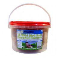 15 Coconut Feeders Tub