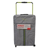 See more information about the IT Luggage 25 Inch Grey 4 Wheel Tourer Worlds Lightest Suitcase