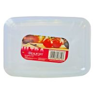 See more information about the Beaufort Pack of 4 0.35 Litre Rectangular Food Containers
