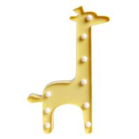 Yellow Giraffe 9L LED Warm White Light