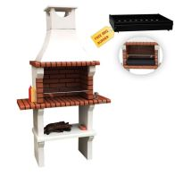 See more information about the Xclusive Florida Masonry Charcoal Barbecue & 2 Side Table 212 x 117cm