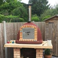 See more information about the Xclusive Vulcano Xl Wood Burning Pizza Oven 1m Outdoor Garden Cooker