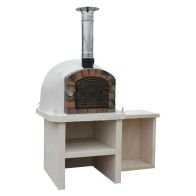 See more information about the Xclusive Premier Outdoor Wood Fired Pizza Oven Garden Cooker Set