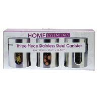 See more information about the 3 Piece Stainless Steel Storer Cannister Set