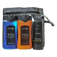 Lynx You Wash Bag Energised Gift Set