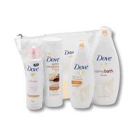 Dove Wash Bag Love Collection Gift Set