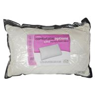 Comfortable Options Memory Foam Diamond Quilted Pillow
