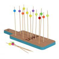 Tapas Bamboo Tray Set - Blue