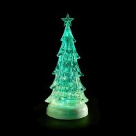 See more information about the LED Colour Changing Animated Christmas Tree Light Up Ornament 37cm