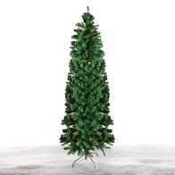 See more information about the 210cm (7 Foot) Slim Green 760 Tips Christmas Tree
