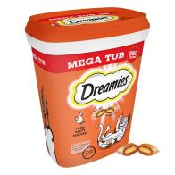See more information about the 350g Chicken Dreamies Mega Tub