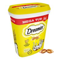 See more information about the 350g Cheese Dreamies Mega Tub