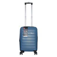 IT Luggage 19 Inch Light Blue 4 Wheel Legion Suitcase