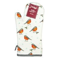 See more information about the Robin Pattern Single Oven Mitt