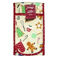 See more information about the Sweets Pattern Double Oven Glove