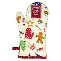 See more information about the Sweets Pattern Single Oven Mitt