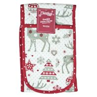 See more information about the Reindeer Pattern Double Oven Glove