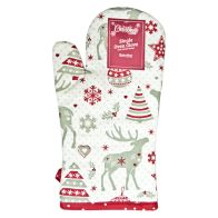 See more information about the Reindeer Pattern Single Oven Mitt
