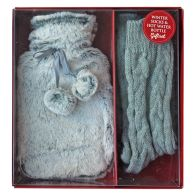 See more information about the Hot Water Bottle & Sock Gift Set