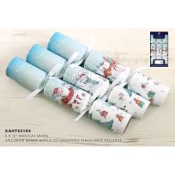 See more information about the 6 Christmas Crackers 12 Inch - Magical Santa