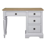 See more information about the Olivia Dressing Table Grey & Oak 4 Drawer