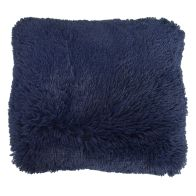 See more information about the Navy Shaggy Faux Fur Cushion 45 x 45cm