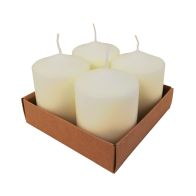See more information about the 4 Pack 8cm Pillar Candle