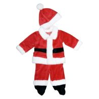See more information about the 3 Piece Baby Santa Suit 3-6 months