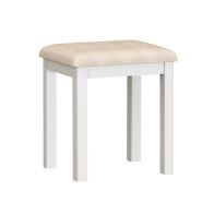 See more information about the Jasmine White Dressing Table Stool