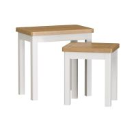 See more information about the Jasmine White Nest of 2 Tables