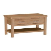 See more information about the Sienna 2 Drawer Large Coffee Table