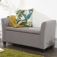 See more information about the Verona Window Seat Grey Fabric