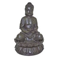 See more information about the Buddha Indoor Table Top Illuminated Water Fountain