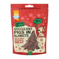 See more information about the Good Boy Succulent Pigs In Blankets 80g