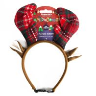 See more information about the Novelty Reindeer Antlers Tartan For Dogs Cupid & Comet