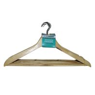 See more information about the 10 Pack of Wooden Hangers