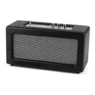 See more information about the Black & Silver Intempo Retro Audio Speaker