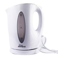 See more information about the Fine Elements 1.7 Litre Plastic Cordless Jug Kettle - White