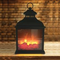 See more information about the LED Fireplace Lantern Battery Operated