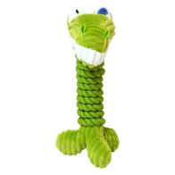See more information about the Animal Dog Toy Rope & Plush Fabric - Green