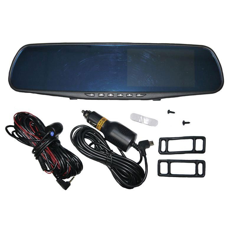 Buy Rear Mirror Dash Cam With Rear View Camera - Online at