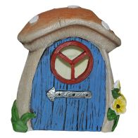 See more information about the Magical Garden Solar Fairy Door - Brown